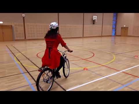 Cykelteknik - 03 - Trampa med pedal