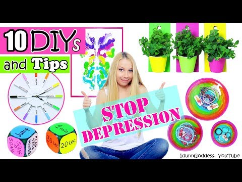 10 DIYs and Tips That Will Help You Stop Depression – DIY Room Decor And Cheer-Up Tips