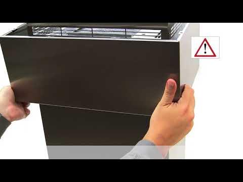 Hvordan bytte ut kullfilter på Bosch ventilator