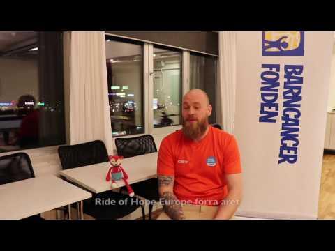 Jim från Uppsala är volontär på Ride of Hope