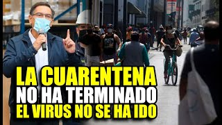 MARTIN VIZCARRA Y SU CONTUNDENTE ADVERTENCIA EN EL PRIMER DÍA DE LEVANTARSE LA CUARENTENA