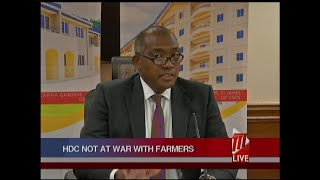 HDC Not At War With Farmers