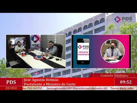 Estuvimos en comunicación con José Agustín Delmás - Postulante a Ministro de Corte