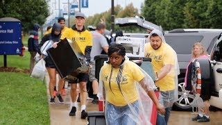 UIS New Student Move-In Day 2019