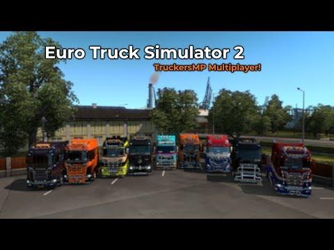 Euro Truck Simulator 2 - TruckersMP (Opname 25/10/2018)