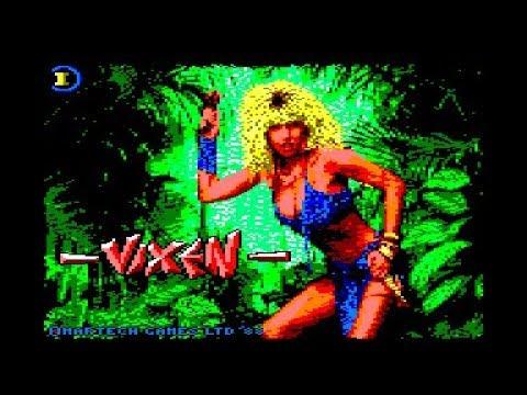 Vixen - 1ª parte - Amstrad CPC Longplay