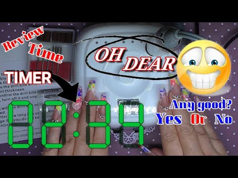 REVIEWING A BRAND NEW NAIL DRILL | REALLY FUNNY!! | ABSOLUTE NAILS