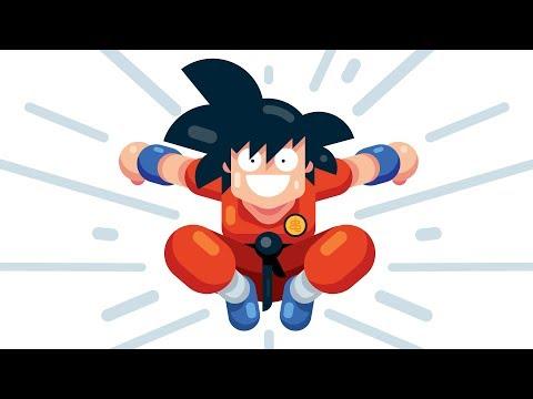 How to Draw KID GOKU From Dragon Ball Z - Step by Step Illustrator Tutorial