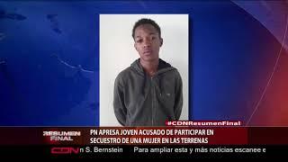 PN apresa joven acusado de participar en secuestro de una mujer en Las Terrenas