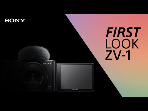 FIRST LOOK: Sony Vlog Camera ZV-1
