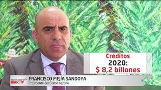 Meta de colocación de créditos del Banco Agrario supera los $8.2 billones