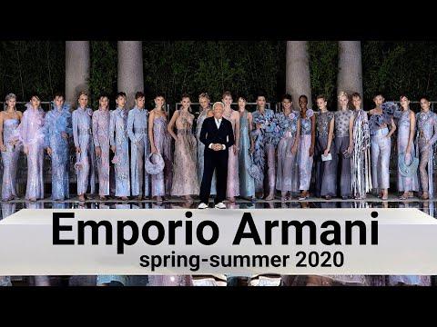 Emporio Armani spring-summer 2020 Milan Fashion week