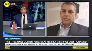 """Rafael Vela: """"Sufrimos intromisiones por parte del fiscal Tomás Gálvez """""""