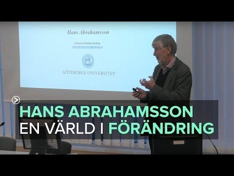 Hans Abrahamsson - Kungälvs kommun i en värld i förändring