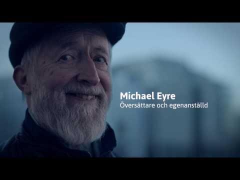 Michael Eyre, översättare och egenanställd hos Frilans Finans