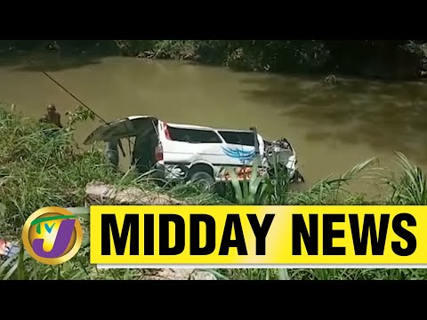 13 Injured in Bog Walk Gorge Accident in Jamaica | TVJ Midday News - June 8 2021