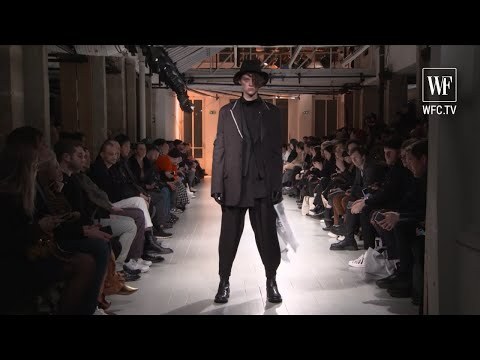 Yohji Yamamoto Fall-winter 20-21 Paris men's fashion show