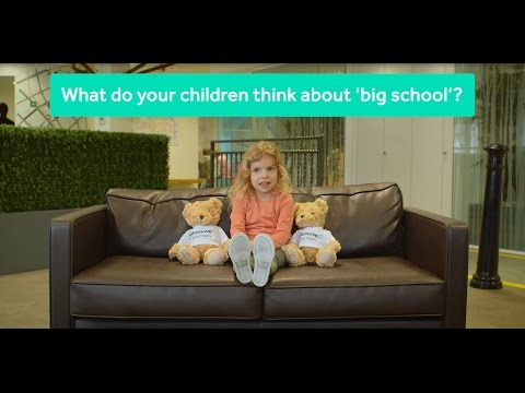 What do your kids think of big school?
