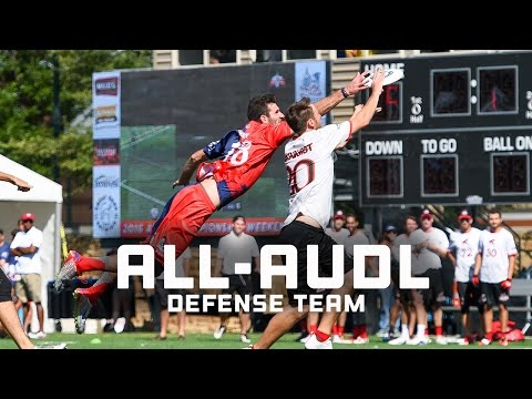 2016 All-AUDL Defense Team