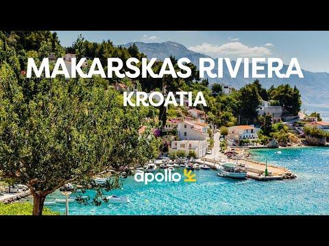 Makarskas Riviera i Kroatia