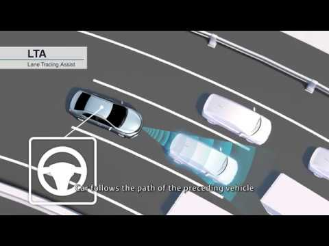 2018 Toyota Safety Sense: Lane Tracing Assist