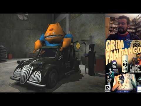 GRIM FANDANGO (PC) - Gameplay en Español || Evento Halloween 2019