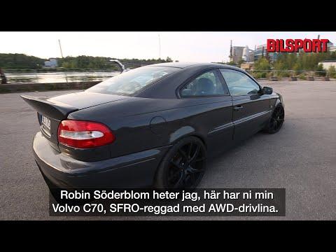 Volvo C70 R AWD –Robin har byggt bilen som Volvo aldrig fick till