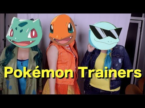 Pokemon Trainers - 20$ Cosplay