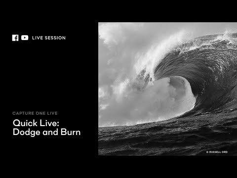 Capture One 20 | Quick Live : Dodge & Burn