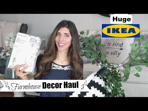 IKEA HAUL & SHOP WITH ME | Farmhouse Home Decor | Momma From scratch