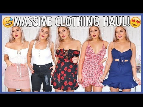 HUGE SPRING & SUMMER CLOTHING HAUL! ?? $1500 Try On Haul!