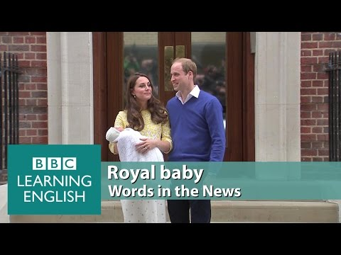 Royal baby. Learn: a tribute to, monarch, named after, the late, in line to