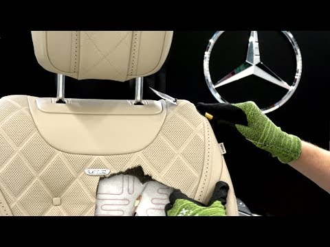 What's inside a Mercedes S-Class Seat?