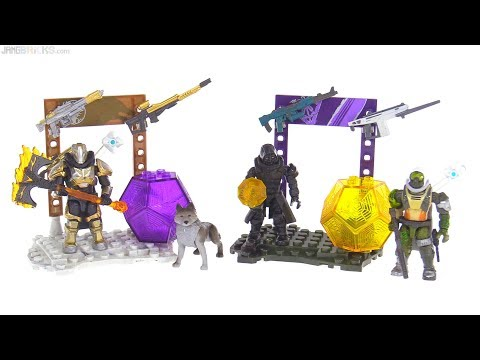 connectYoutube - Mega Construx Destiny Xur & Lord Saladin Arsenal sets reviewed