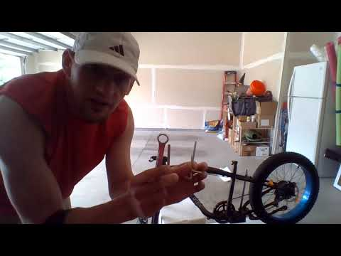 Ecotric electric fat tire bike unboxing and assembly for Hammer