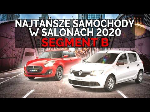 SEGMENT B | NAJTAŃSZE AUTA Z SALONU 2020 - #166 TOP