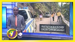 Frustration Grows Over Gordon Town Road Breakaway - January 18 2021