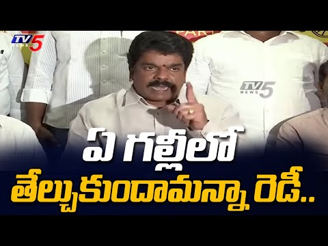 మీరు తప్పుకోండి చూపిస్తాం..!! || TDP Bonda UMA Fired on YSRCP Goons and AP Police || TV5 News