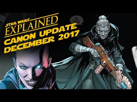 December 2017 Star Wars Canon Update