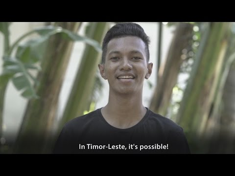 What's Possible in Timor-Leste?