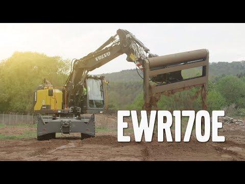 Volvo EWR170E - ny hjulgrävmaskin från Swecon