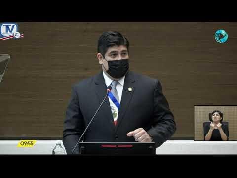 Rendición de cuentas del Presidente de la República Carlos Alvarado Quesada