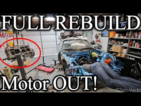Making My V8 Rev Like A Honda! - Wide Body V8 FD RX7 Build Video Series 25