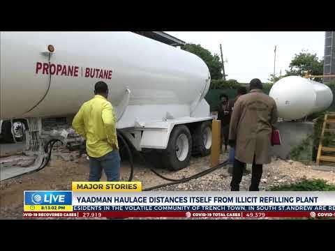 Yaadman Haulage Distances Itself from Illicit Refilling Plant | News | CVMTV