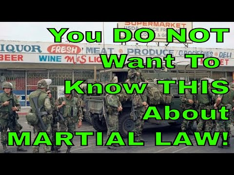 All You DON'T Want To Know About Martial Law
