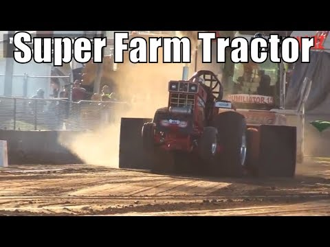 Super Farm Tractor Class At WPA Pullers In Hartford Michigan 2018