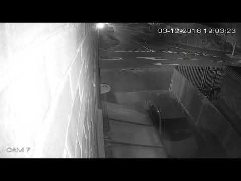 Car hit CCTV footage 2