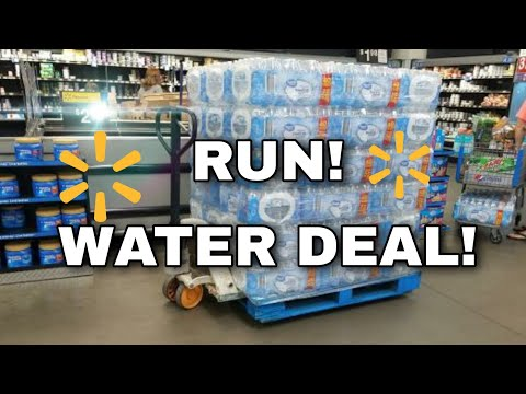 RUN! WALMART GLITCH ON WATER! No coupons needed! one cute couponer