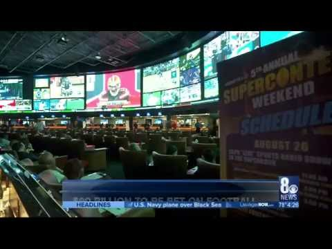 CBS Las Vegas - $90 Billion to be Bet on Football, 98% Will be Done Illegally