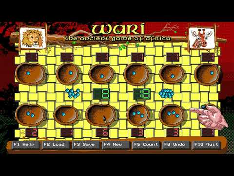 Wari: The Ancient Game of Africa (ImagiSoft) (MS-DOS) [1994] [PC Longplay]